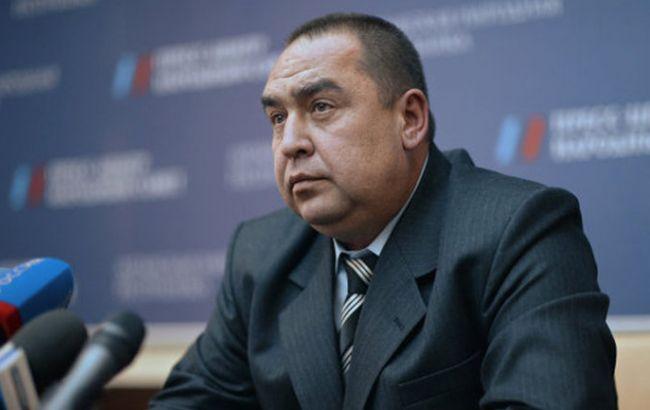 Фото: главарь ЛНР Игорь Плотницкий