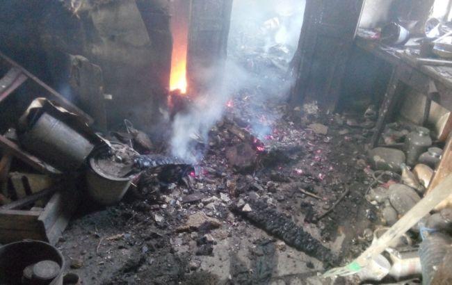 Фото: в результате пожара погибли два человека