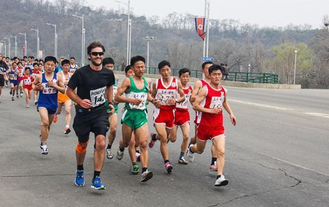 Туристам запропонували побігати по КНДР