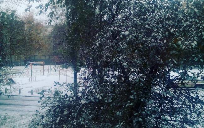 Фото: Снег в Харькове (Instagram)