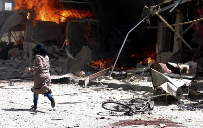 Фото: наслідки обстрілів Алеппо