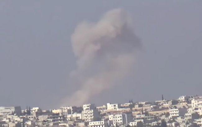 Фото: бомбардировки в Алеппо