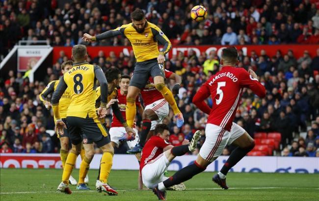 Фото: Манчестер Юнайтед - Арсенал