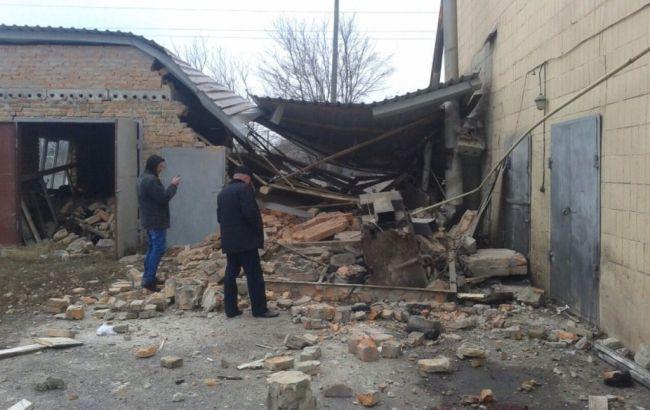 Фото: у Київській області стався вибух у підсобному приміщенні