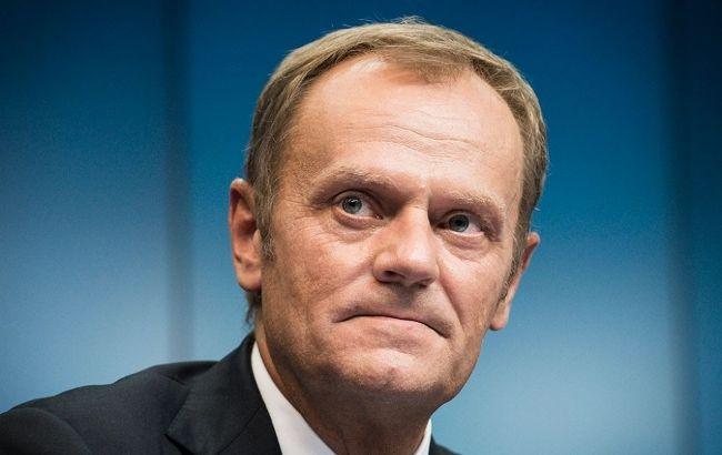 Фото: Туск во время саммита в Брюсселе рассказал, к чему привязаны санкции против РФ
