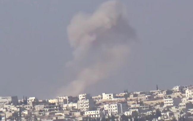 Фото: боевые действия в Сирии