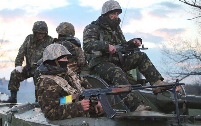 Фото: украинские военные