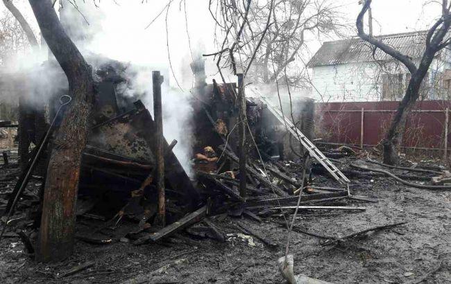 Впроцессе пожара вжилом доме погибли дети