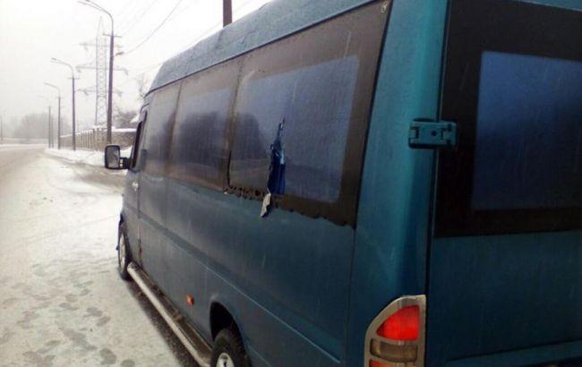 Фото: в Днепропетровской области неизвестные напали на комиссию горсовета