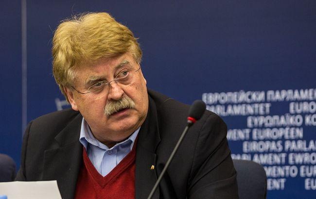 Фото: председатель Комитета по иностранным делам Европарламента Эльмар Брок