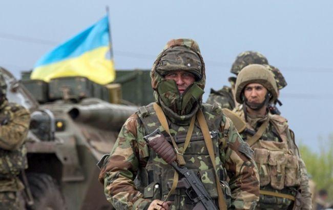 Фото: военные ВСУ на Донбассе