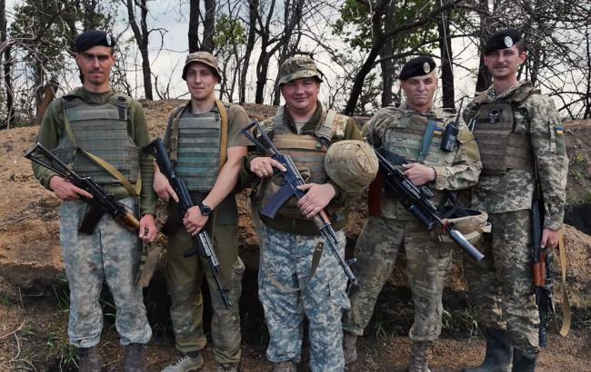 Фото: Українські морпіхи (скріншот youtube.com/Військове телебачення України)
