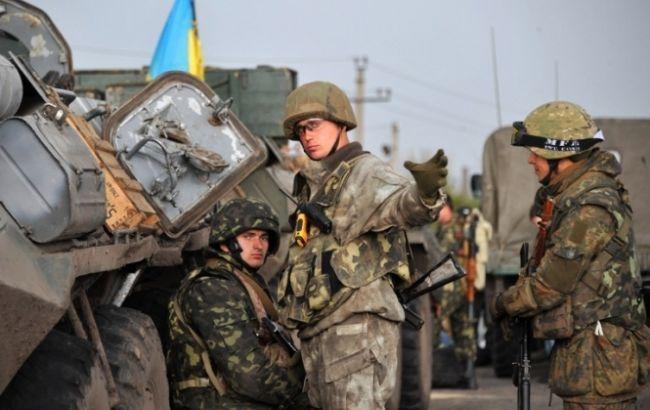 В зоні АТО за добу загинув один військовий, 5 отримали поранення, - штаб