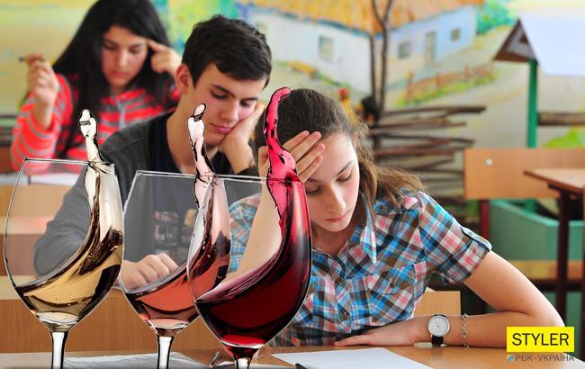 """В Україні введуть """"уроки тверезості"""" для школярів"""