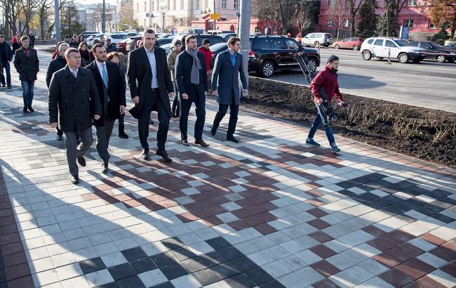 Фото: инспекция капитального ремонта ул. Владимирской и ул. Льва Толстого (kiev.klichko.org)