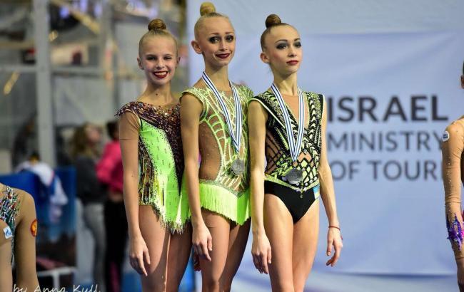 Украинские гимнастки победили на Международном турнире юниоров в Эйлате