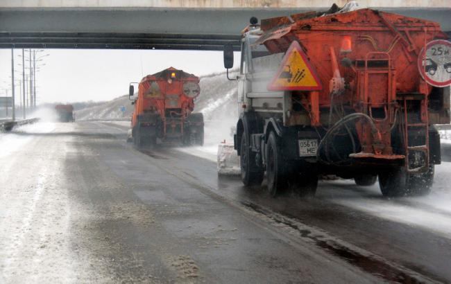 Фото: непогода в Украине (ukravtodor.gov.ua)