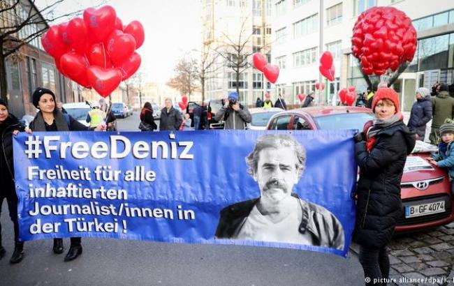 Турция освободила из тюрьмы немецкого журналиста