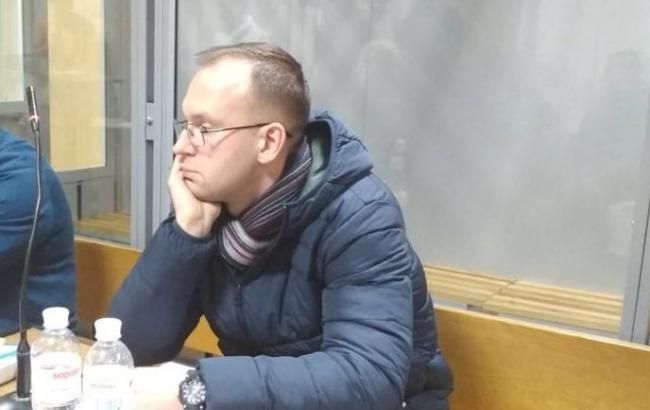 Фото: задержанный Геннадий Капканов (twitter.com/Artem_Shewa)