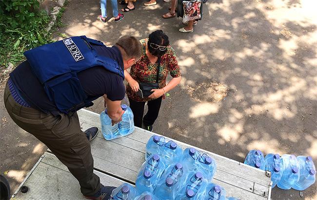 ВДонецкой области без воды осталось 60 тыс. человек из-за прорыва водовода