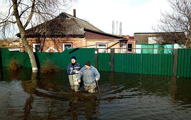 Нареках Украины продолжается подъем воды— ГСЧС
