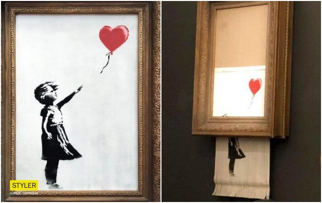 Новое название, новая цена: скандальная картина Бэнкси была продана во второй раз