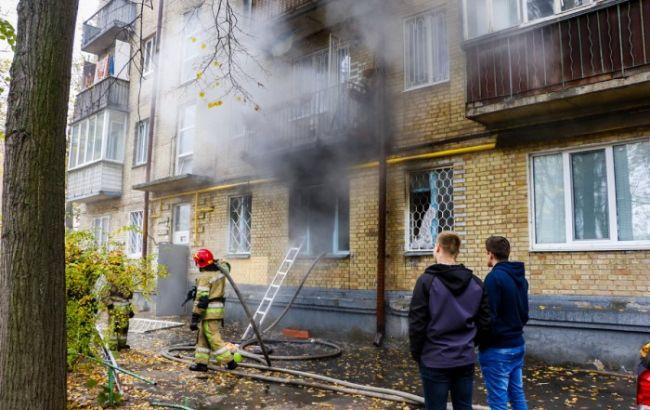 В центре Киева прогремел взрыв, есть жертва