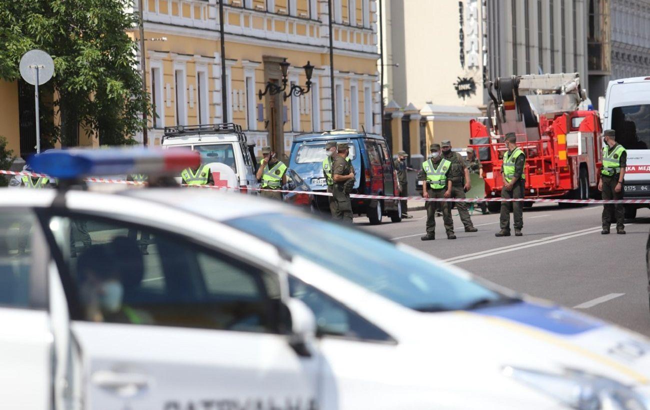 Захват банка в Киеве квалифицировали как теракт
