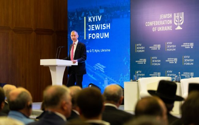 Борис Ложкин: Kyiv Jewish Forum открывает новые возможности для обсуждения глобальных проблем