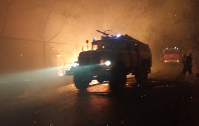 У Зеленського відреагували на пожежі в Луганській області