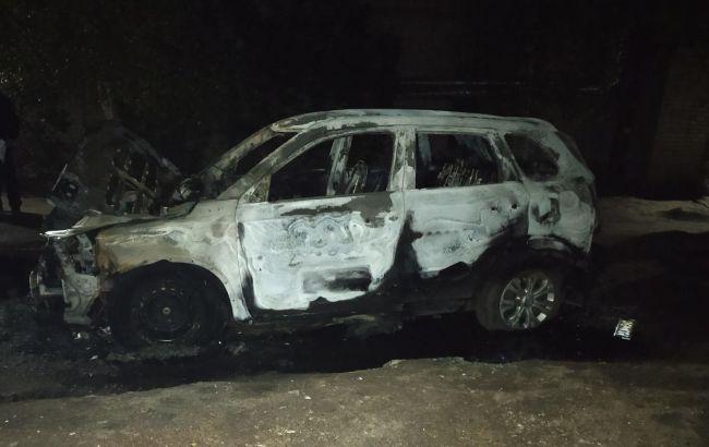 У Харківській області згоріло авто кандидата в депутати, розглядають підпал