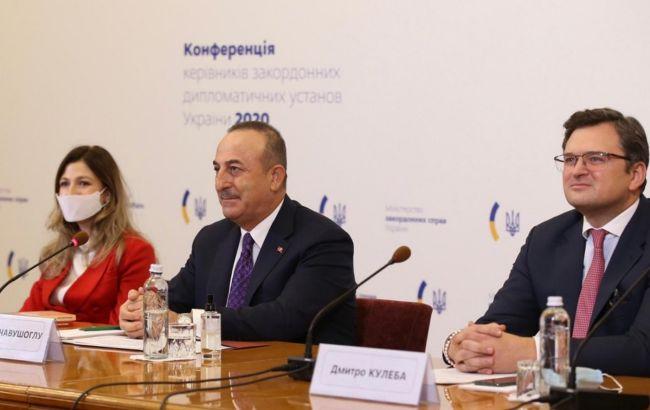 """Украина и Турция провели первое заседание """"квадриги"""": о чем говорили"""