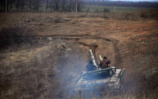 Российские оккупанты пять раз обстреливали позиции ВСУ на Донбассе