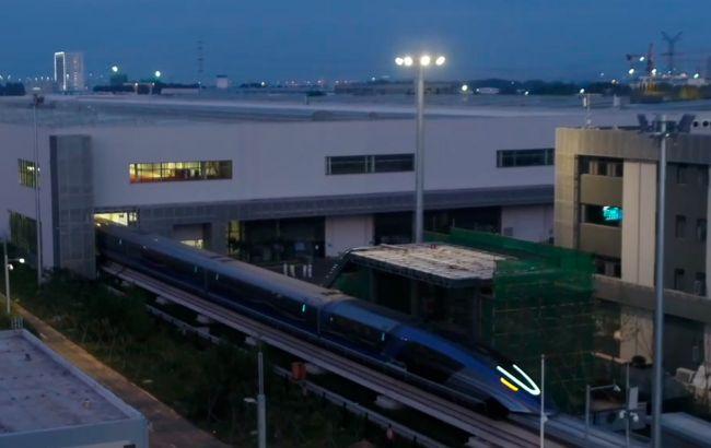 Китай разработал поезд на магнитной подвеске со скоростью 600 км/ч