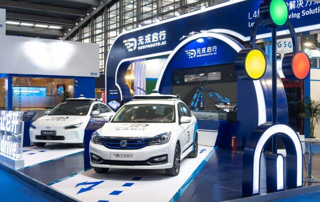 Китай запустил сервис беспилотных такси