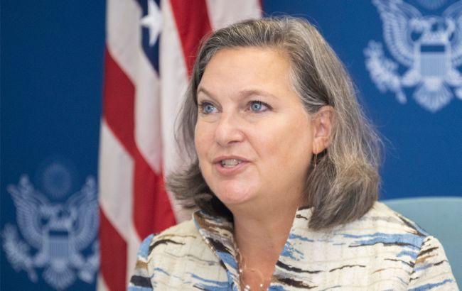 Нуланд говорила в России о полном выполнении минских соглашений, - посольство США
