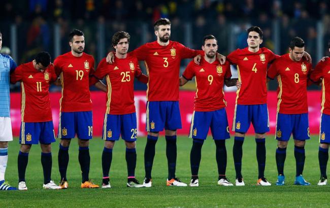 Фото: Испания - Чехия