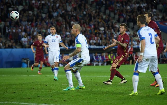 Россия - Словакия: Россияне с борьбой уступают во втором матче