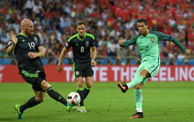 Фото: Португалія - Уельс звіт про матч