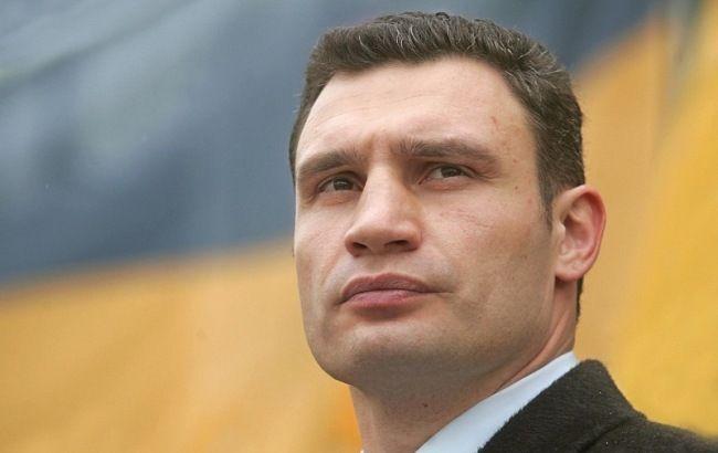 Фото: мэр Киева Виталий Кличко