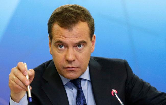 Фото: Медведев допустил разрыв дипотношений с Украиной