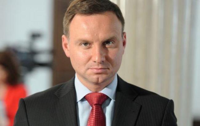 В Украинское государство прибыл президент Польши Дуда
