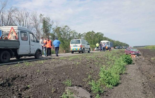 Фото: у результаті ДТП загинули троє робітників