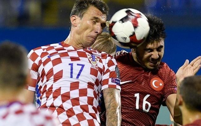 Фото: Хорватія - Туреччина