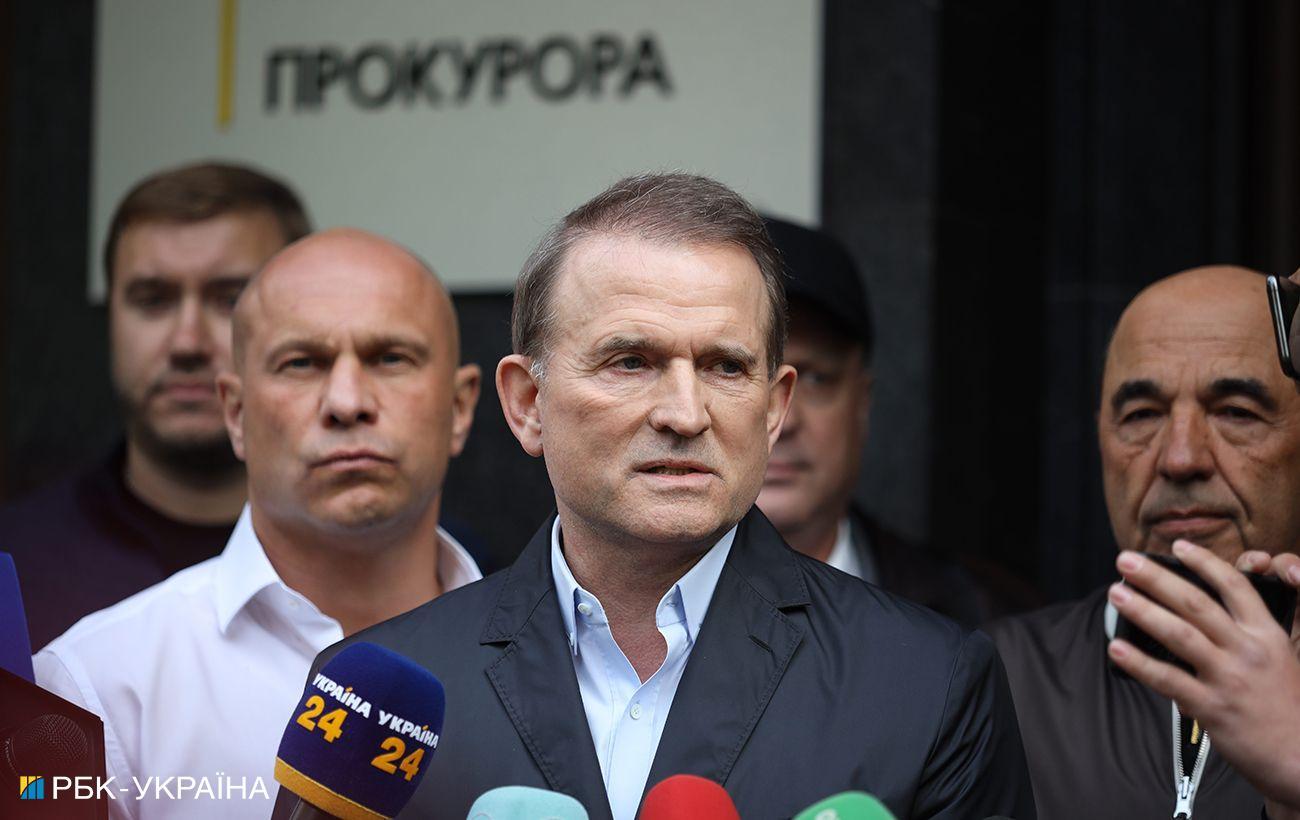 Суд начал избирать меру пресечения Медведчуку: онлайн