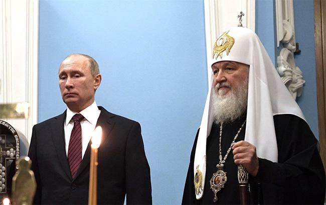 Фото: Владимир Путин и патриарх РПЦ Кирилл (kremlin.ru)