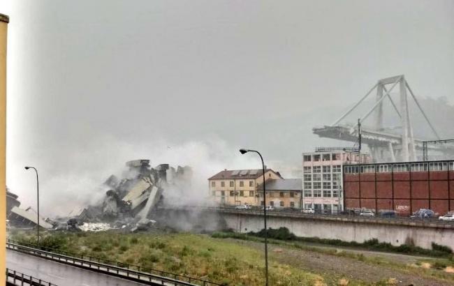 Обвал мосту в Італії: всі подробиці