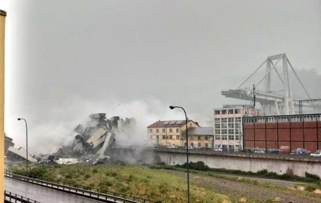 Обвал мосту в Генуї: рятувальники завершили операцію з пошуку загиблих
