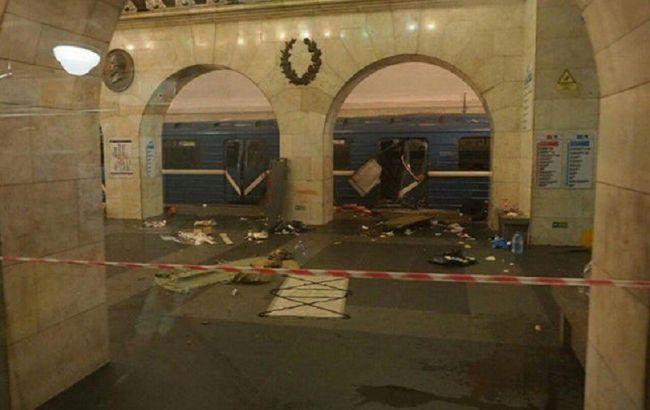 Фото: теракт в метро Петербурга