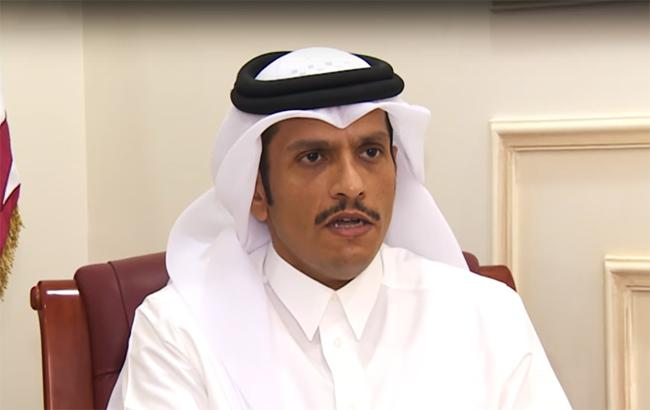 Фото: глава МЗС Катару (Youtube screenshot)